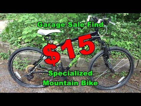 $15 Specialized Hardrock Mountain Bike Garage Sale Find - Needs Work