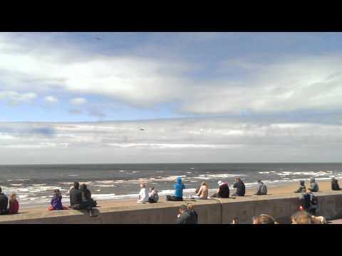 Red Arrows Blackpool pleasure beach 2015