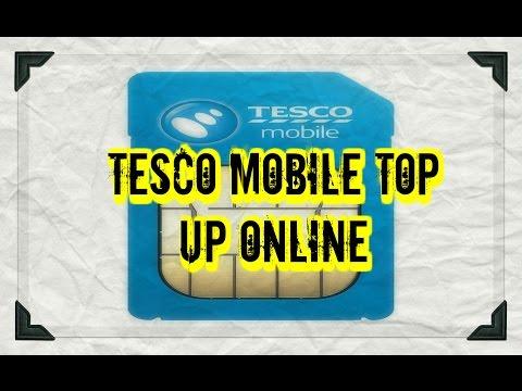 Buy Tesco Mobile Top up Online - Voucher Code Delivered in Email
