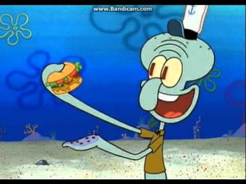 squidward hate krabby patties