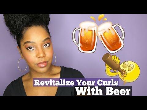 Beer Rinse for Natural Hair | Repair Your Curls | Melissa Denise