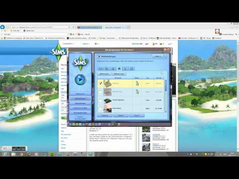 The sims 3 Tutorial - How to Download lots into your game