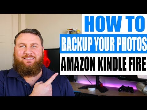 How to back up photos from your Amazon Kindle Tablet on your computer