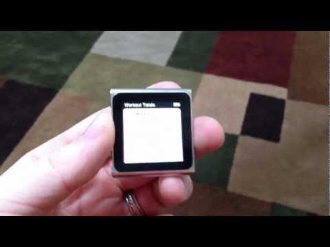 using Nike+ on iPod nano