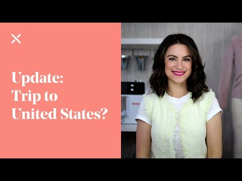 Another Update: Trip to United States?