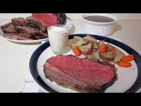 Roast a Perfect Prime Rib with Au Jus - DIY  - Guidecentral