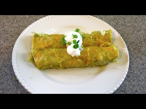 Green Sauce Enchiladas Recipe