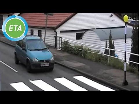 DIY pop-up zebra crossing