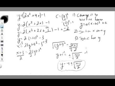 Finding the Inverse of a Quadratic