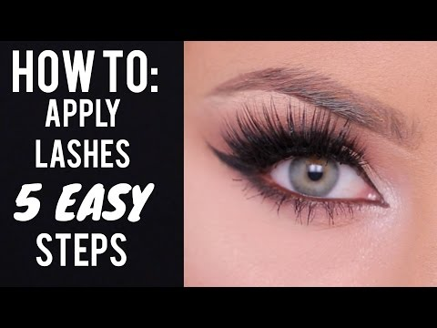 HOW TO: Apply False Lashes in 5 Steps