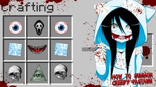 Minecraft HOW TO SUMMON FROST GIRL CREEPY PASTA!! - DONUT FALLS IN LOVE WITH FROST GIRL
