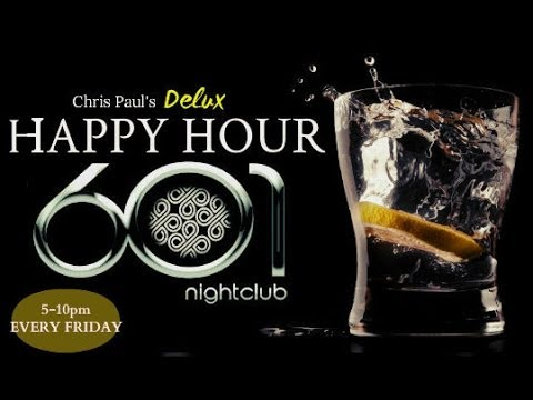 Cincy's NEW WEEKEND KICK-OFF is the DELUX Happy Hour @ 601! Lounge! EVERY FRIDAY from 6-10pm!!