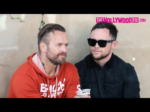 Bob Harper From The Biggest Loser Gets Touchy Feely With His Boyfriend On Melrose Place 11.18.15