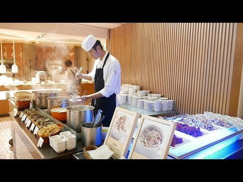 FIVE STAR All You Can Eat BREAKFAST Buffet in Tainan Taiwan