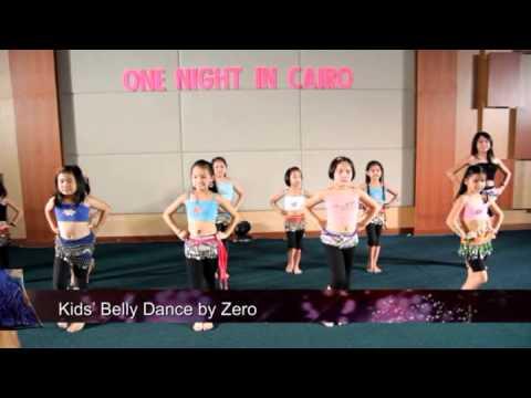 Kids' Bellydance Practice Routine