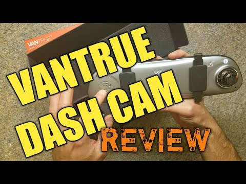 Review of the Vantrue N3 Mirror Dash Cam and Backup Camera