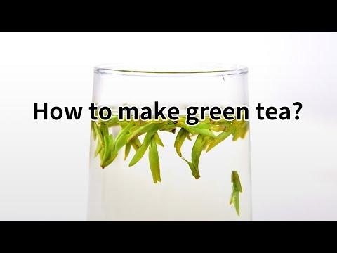 How to make green tea?(http://www.tea-tao.com)