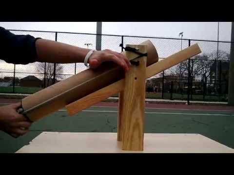 Tennis Ball Launcher (Personal Project)