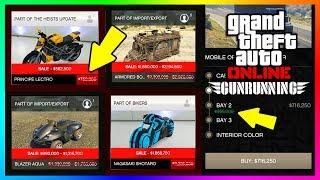 GTA ONLINE NEW DLC CONTENT DETAILS - SECRET UNEXPLAINED SALES, NEW UPDATE SOON & MORE! (GTA 5 DLC)