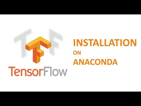 How to install TensorFlow on Anaconda on Windows OS