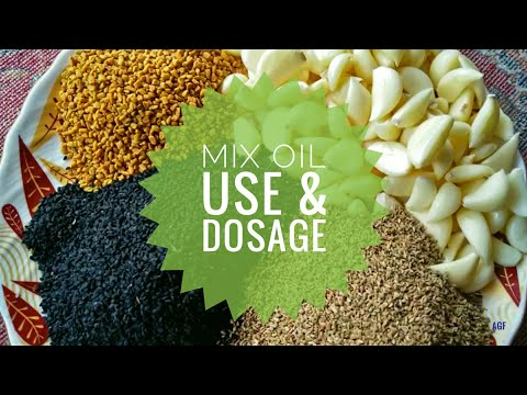 Mix Oil Use and Dosage | Apna Goat Farms