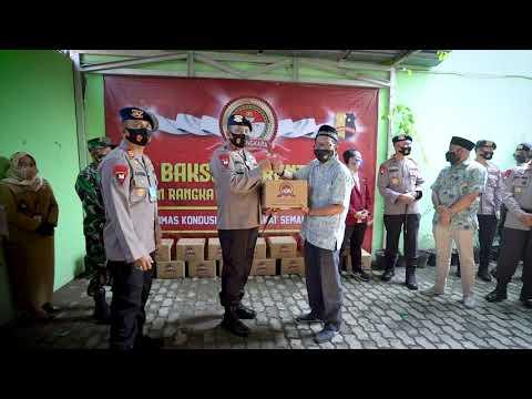 Bhaksos Serentak Korbrimob Polri Dalam Rangka Hari Bhayangkara ke-74