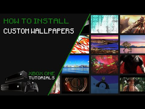 How To Install Custom Wallpapers On Xbox One