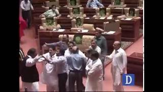 Sindh Assembly fight