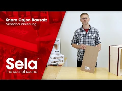 Sela Snare Cajon Kit / Bausatz - Official Video Assembly Instructions / Video-Bauanleitung