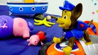 Tolle Spielsachen -🐷 Oje, #PeppaWutz ist in Seenot - Das ist ein Fall für 🐶die Paw Patrol