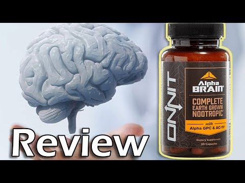 ONNIT Labs: Alpha BRAIN Nootropic Supplement Review