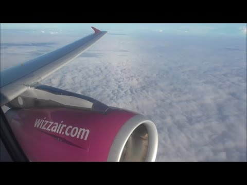 Wizzair Airbus A320-232 | London Luton to Brno *Full Flight*