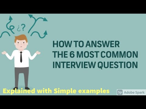 Top 10 Interview Question & Answers-Job Interview Skills