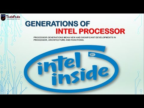 Generations Of Intel Processors | Intel Codename | Haswell Kabylake Skylake