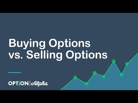 Buying Options vs  Selling Options