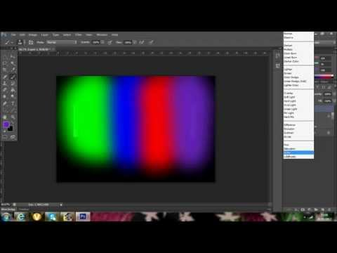 How to make a neon glow effect ( photoshop cs6) Watch in 1080p