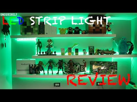 SUPERNIGHT 5050 Flexible RGB LED Strip Light Kit,REVIEW + GIVEAWAY