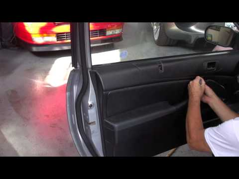 Door Panel Repair on a Honda Civic Redwood City by Cooks Upholstery