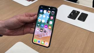 Hands-on look at the iPhone X