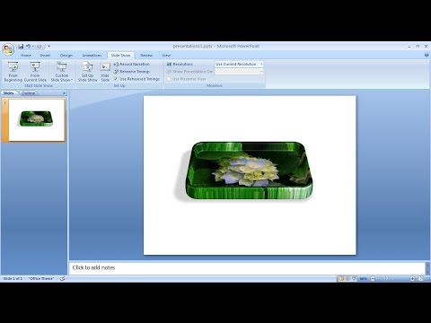 Powerpoint training  How to create 3D shapes in powerpoint