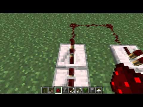 Minecraft Automatic Arrow Shooting Dispenser Tutorial