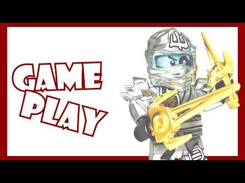 NinjaGo Games-NinjaGo Rush (GamePlay by Lego Lloyd Studio)
