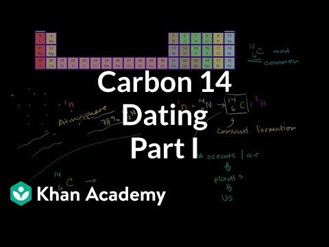 Carbon 14 dating 1   Life on earth and in the universe   Cosmology & Astronomy   Khan Academy