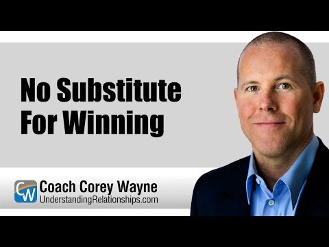 No Substitute For Winning