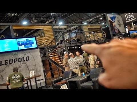 Multi-Million Dollar Temporary Buildings at SHOT Show...