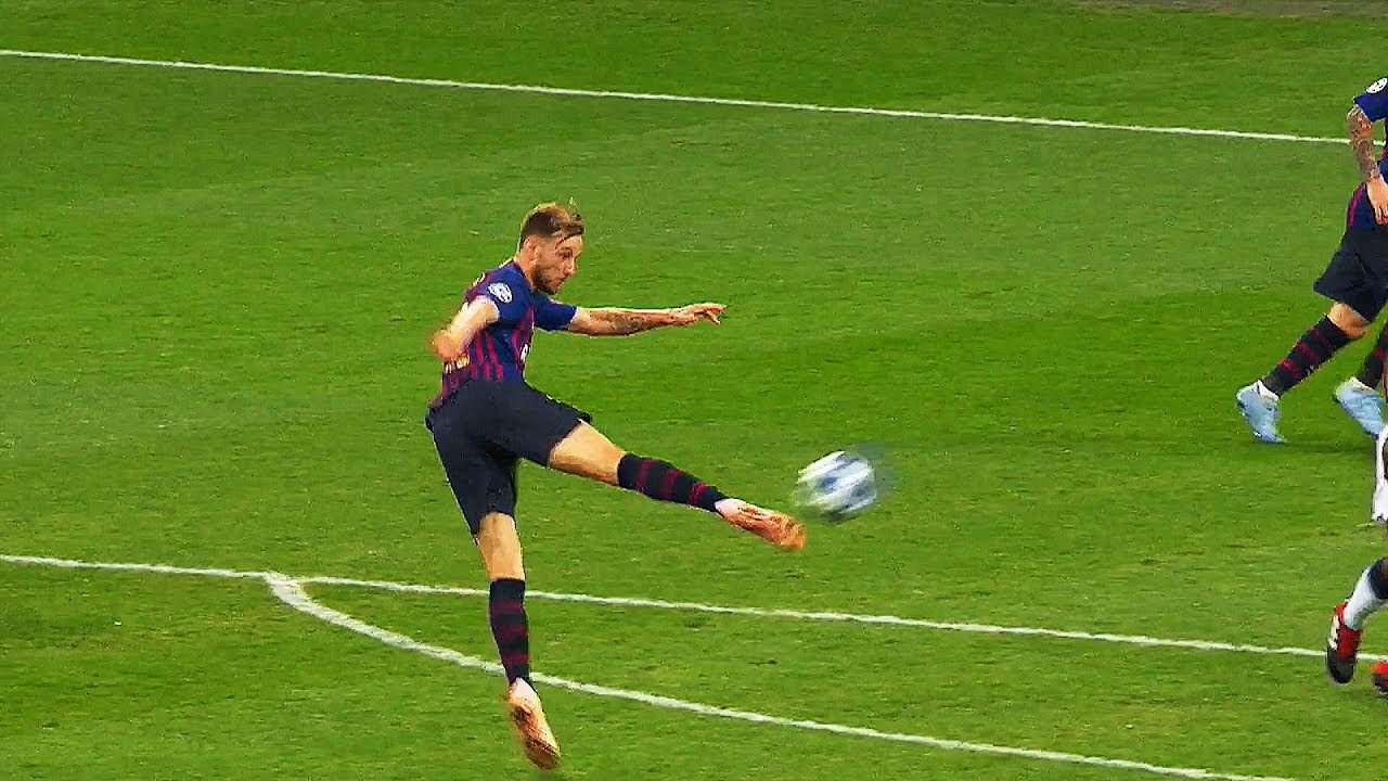 19 Impossible ONE Touch Goals Only FC Barcelona Players Can Score in Football   HD  