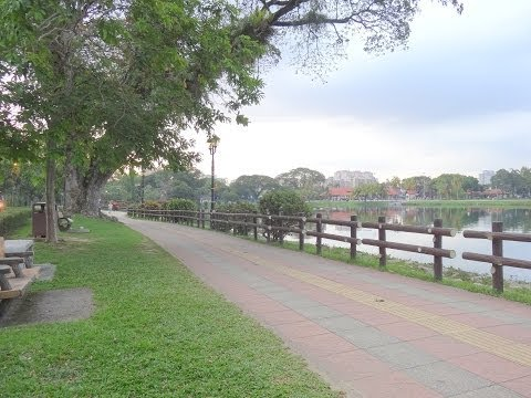Walking Tour : Titiwangsa Lake Gardens - Kuala Lumpur
