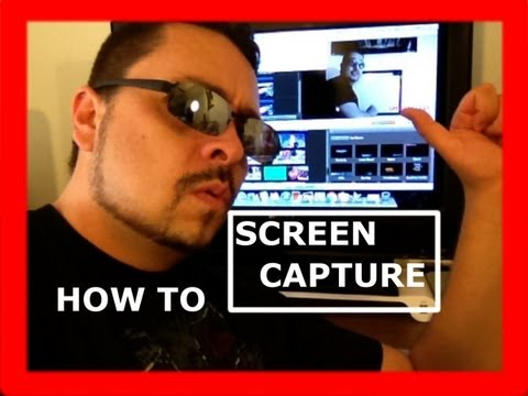 How to screen capture on an Apple Computer Tutorial