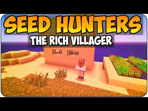 Minecraft PS3 & Xbox 360 Seed Hunters - The Rich Villager - Seed Showcase/ Review Gameplay