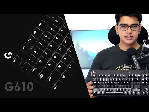 Logitech G610 Orion Brown Gaming Keyboard Review!